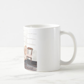 Old Spinning Wheel Coffee Mug