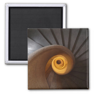 Old Spiral Staircase Magnet