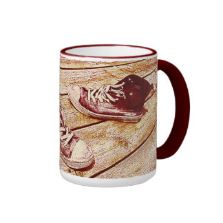 old sport shoe mug