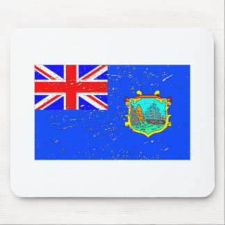Old St Helena Flag (Distressed) Mouse Pad