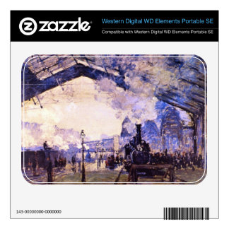 Old St Lazarre Station by Claude Monet WD Elements SE Skin