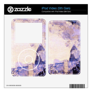 Old St Lazarre Station by Claude Monet iPod Video Decals