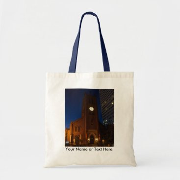 everydaylifesf Old St. Mary's Cathedral Customize w/Name Tote Bag