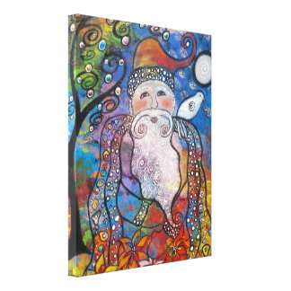 Old St. Nick Gallery Wrapped Canvas
