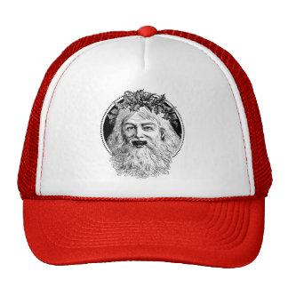 Old St. Nick Retro Christmas Trucker Hats