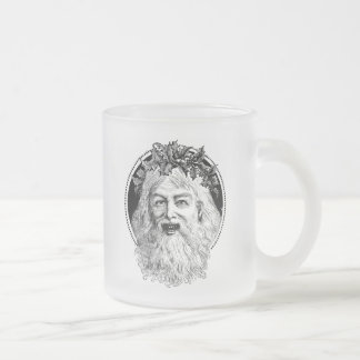 Old St. Nick Retro Christmas Coffee Mugs