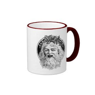 Old St. Nick Retro Christmas Mug