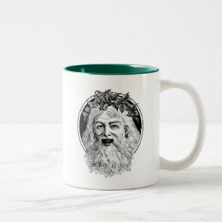 Old St. Nick Retro Christmas Coffee Mug