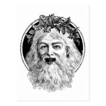Old St. Nick Retro Christmas Post Cards
