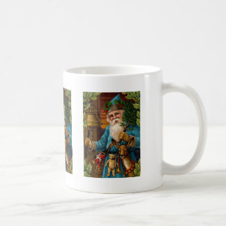 Old St. Nick with Toys and Bell Mug