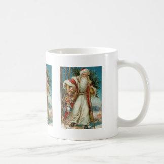 Old St. Nick with Toys Coffee Mug