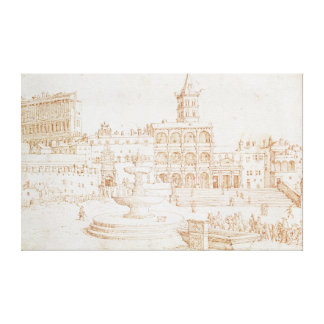 Old St. Peter's Canvas Print