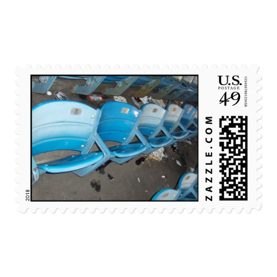 Old Stadium Seats Postage