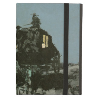 Old Stage Coach of the Plains by Remington Cover For iPad Air
