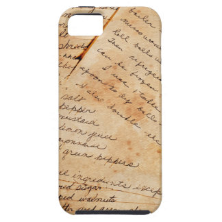Old Stained Family Recipes iPhone SE/5/5s Case