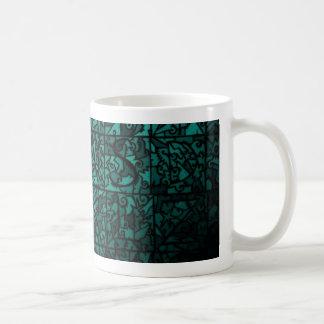 Old stained-glass window 3 coffee mug