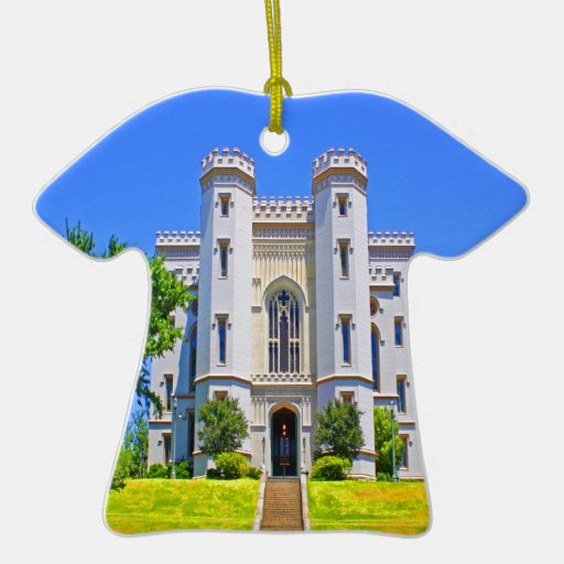 old state capitol mansion governor baton rouge ornament
