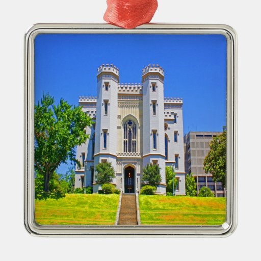 old state capitol mansion governor baton rouge christmas tree ornaments