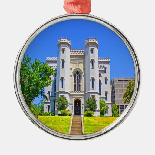 old state capitol mansion governor baton rouge christmas ornaments