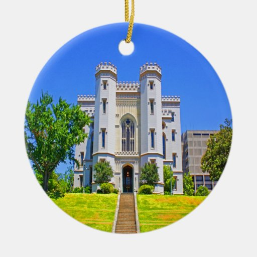 old state capitol mansion governor baton rouge ornaments