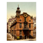Old State House Boston Massachusetts Postcard