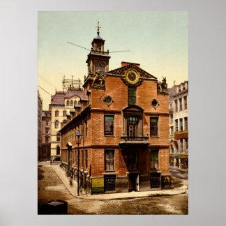 Old State House Boston Massachusetts Poster