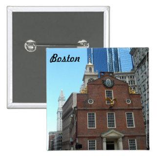 Old State House, Boston Pinback Button