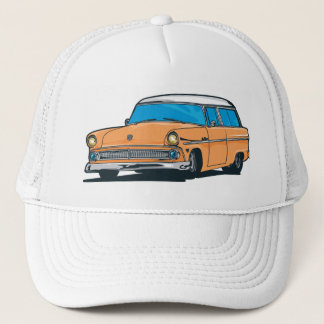 Old Station Wagon Trucker Hat