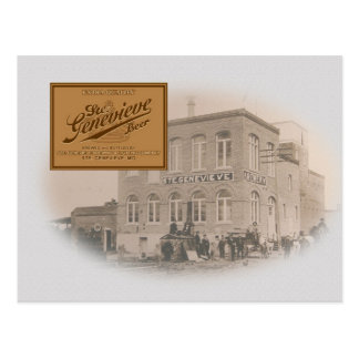 Old Ste Genevieve Brewery Post Card