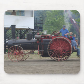 Old Steam/Coal Engine Tractor Mouse Pad