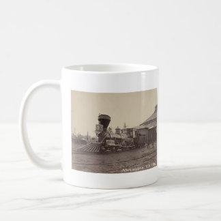 Old Steam Engine Alexandria, VA. 1862 Train Coffee Coffee Mug
