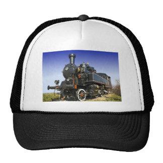 old steam locomotive trucker hat