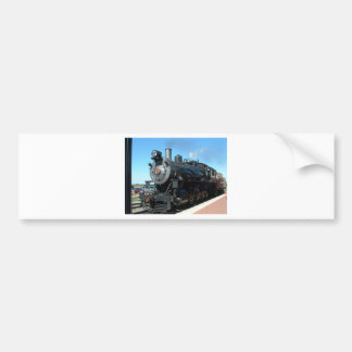 Old Steam Train One of a Kind Photo Shoot Bumper Sticker