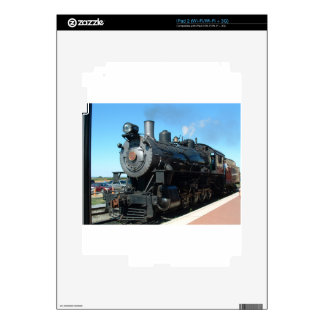 Old Steam Train One of a Kind Photo Shoot Decals For The iPad 2
