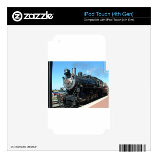 Old Steam Train One of a Kind Photo Shoot iPod Touch 4G Skin