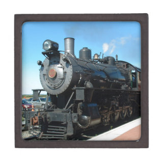 Old Steam Train One of a Kind Photo Shoot Jewelry Box