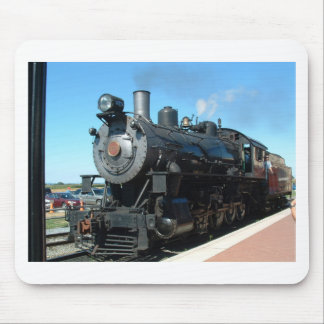 Old Steam Train One of a Kind Photo Shoot Mouse Pad