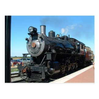 Old Steam Train One of a Kind Photo Shoot Postcard