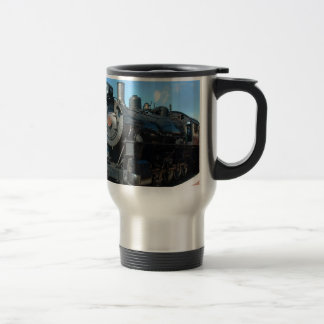 Old Steam Train One of a Kind Photo Shoot Travel Mug