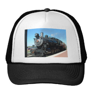 Old Steam Train One of a Kind Photo Shoot Trucker Hat