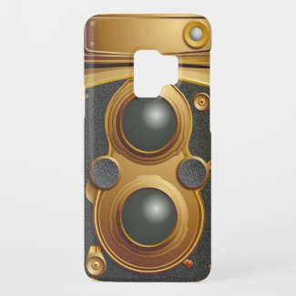 Old Steampunk Camera Case-Mate Samsung Galaxy S9 Case