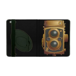 Old Steampunk Camera iPad Case