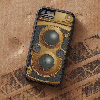 Old Steampunk Camera Tough Xtreme iPhone 6 Case