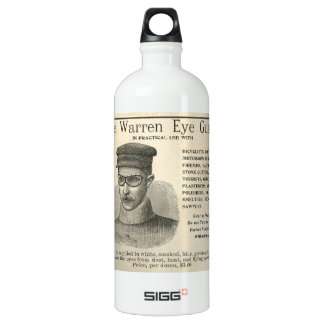 Old Steampunk Style Advertisement SIGG Traveler 1.0L Water Bottle