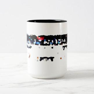 Old stereo Two-Tone coffee mug