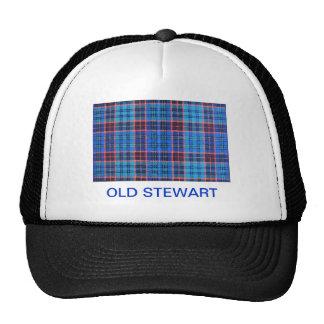 OLD STEWART FAMILY TARTAN TRUCKER HAT