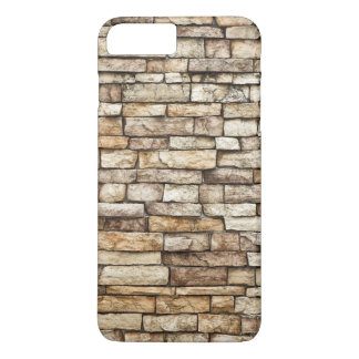 Old Stone Brick Wall Texture iPhone 8 Plus/7 Plus Case