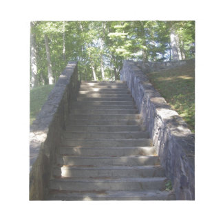 Old Stone Stairs Notepad