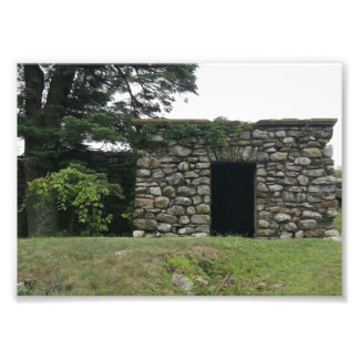 Old Stone Structure doorway 5x7 Photographic Print