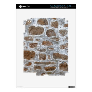 Old Stone Wall Background iPad 3 Skins